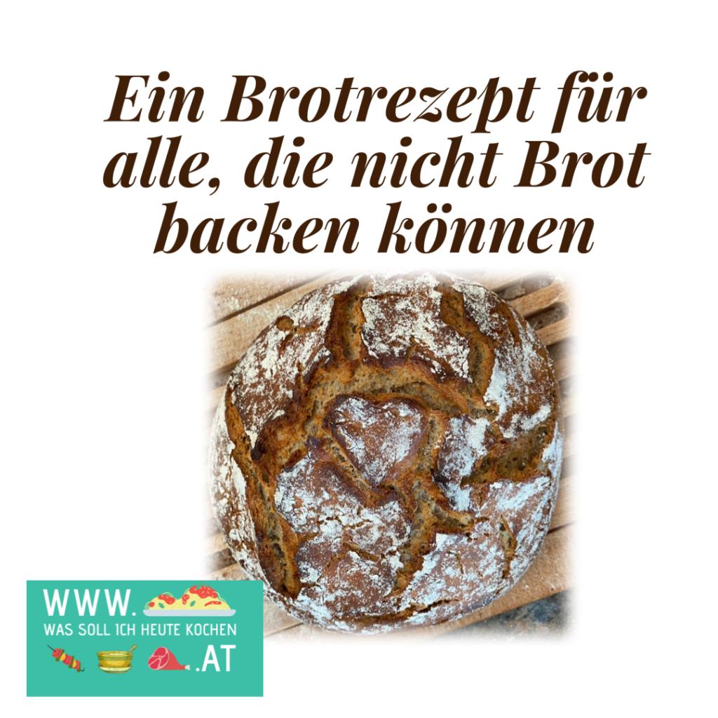 Brotlaib mit Herzmuster
